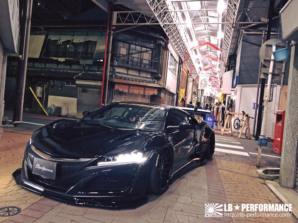 LIBERTY WALK自由に歩く!!! LB★WORKS NSX! Sport cars, Sports