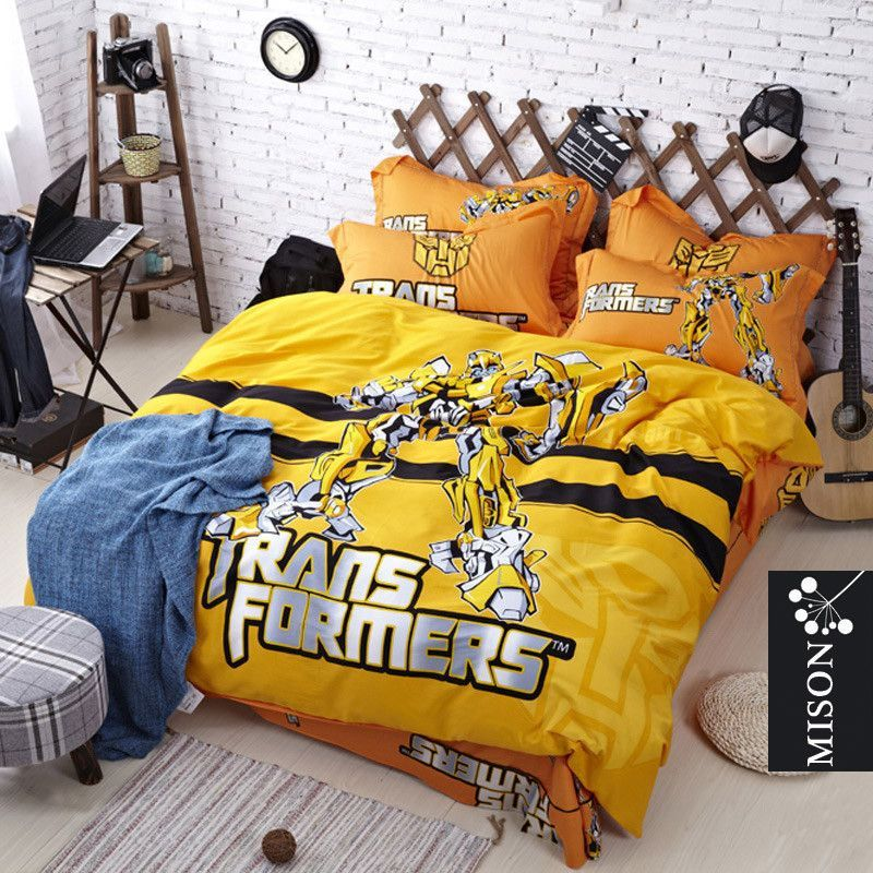 Transformers Bumblebee Bed Set
