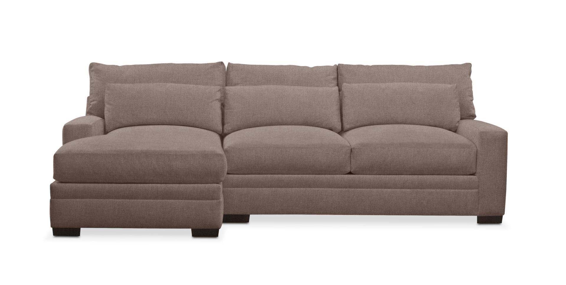 Excellent Winston Cumulus 2 Piece Sectional Sofa With Left Facing Dailytribune Chair Design For Home Dailytribuneorg