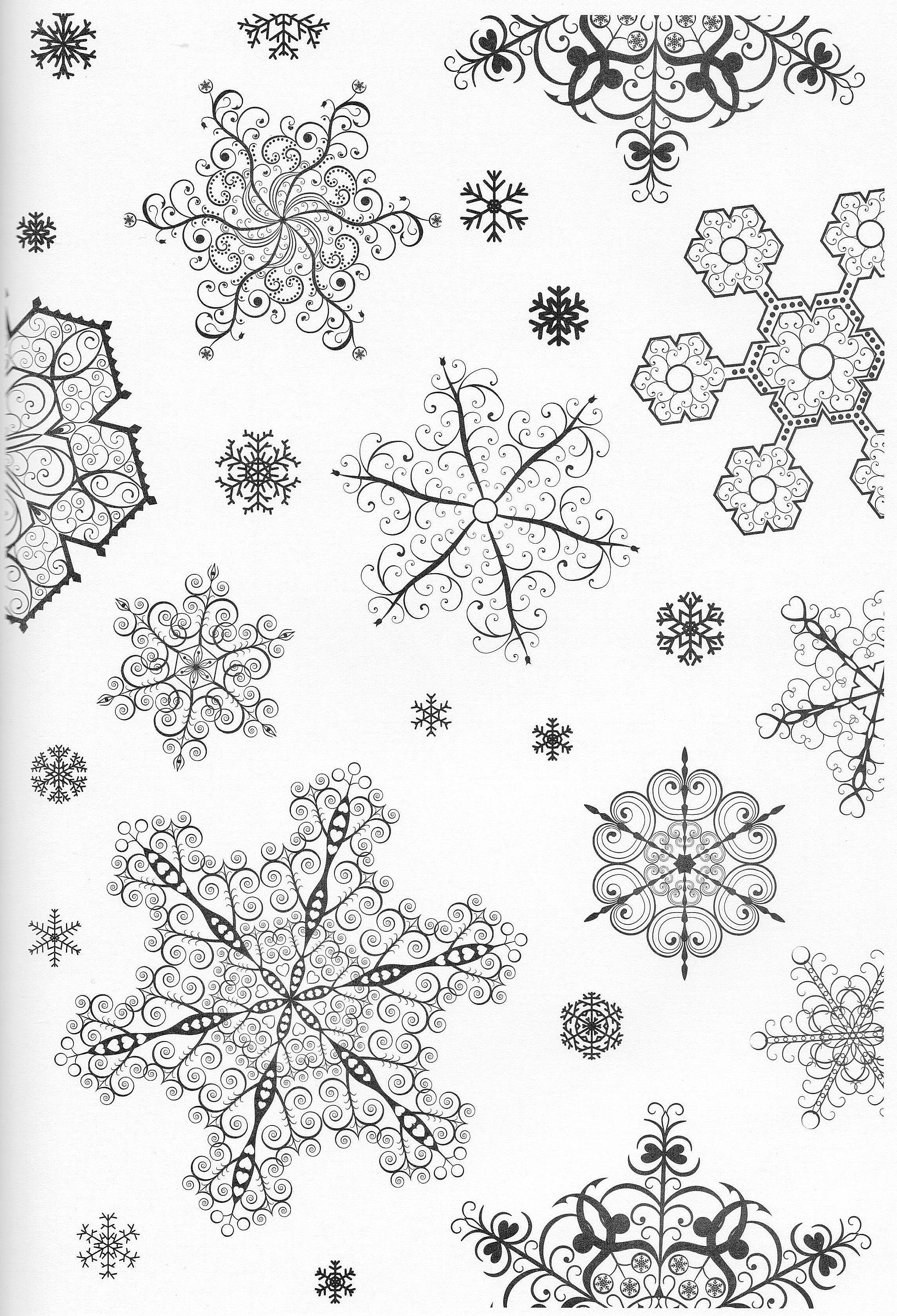 Scandinavian Coloring Book Pg 35 | Color pages, Stencils, Templates ...