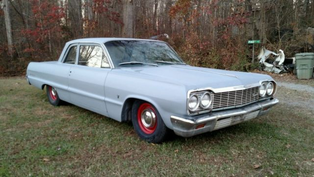 1964 Chevrolet Bel Air 2 Door Post Conversion Impala Daily Driver 62 63 Biscayne For Sale Photos Technical Specifications D Chevrolet Bel Air Bel Air Impala