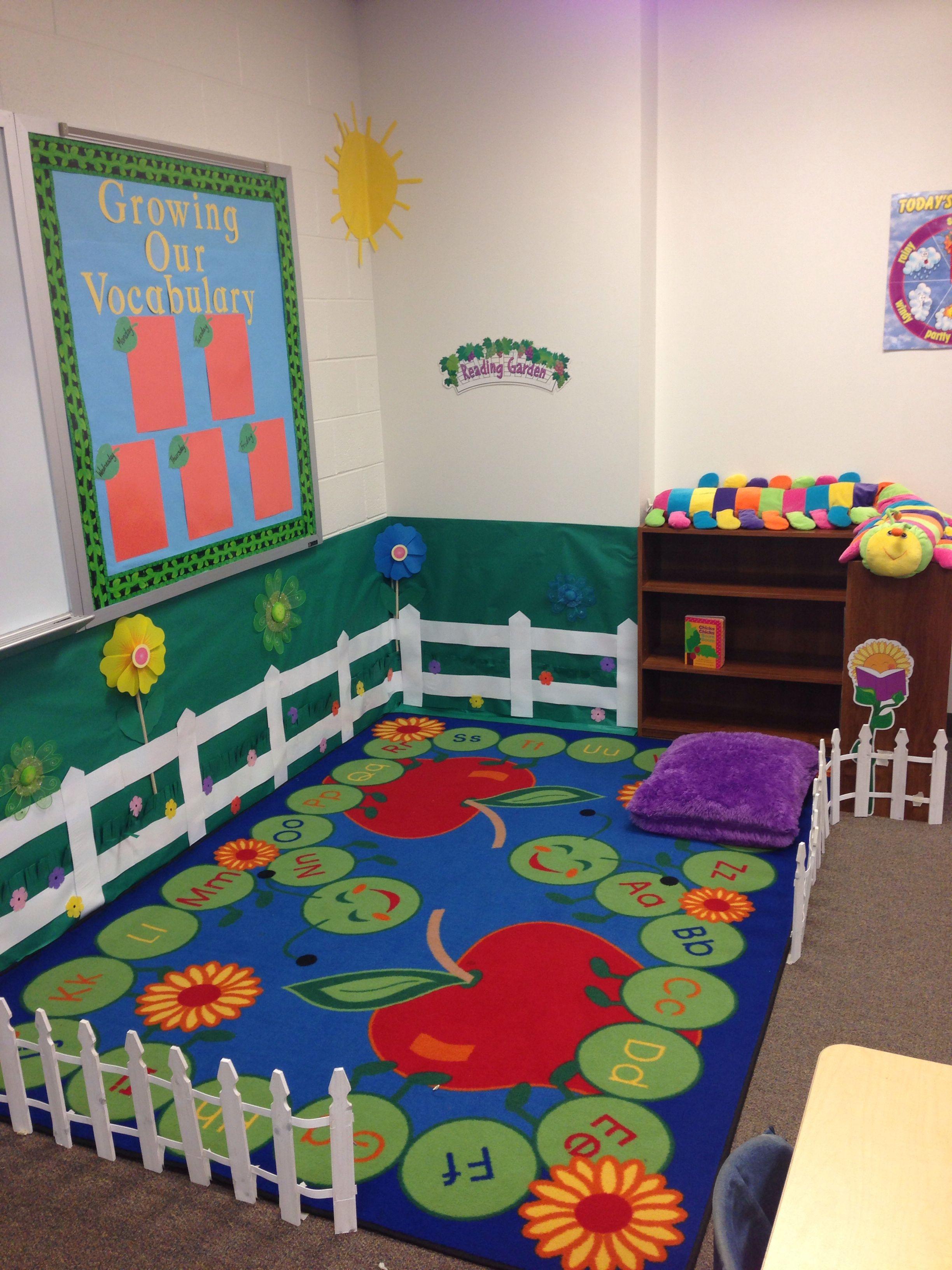 My Classroom Reading Garden Classroom Reading Garden