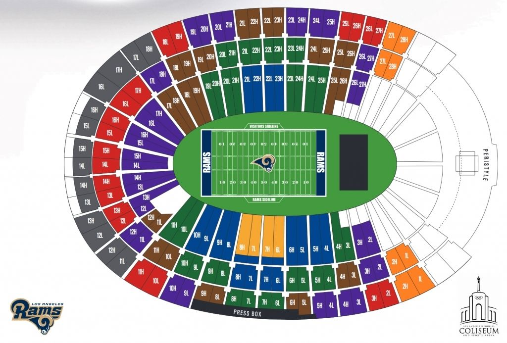 Rams Tickets Seating Chart En 2020