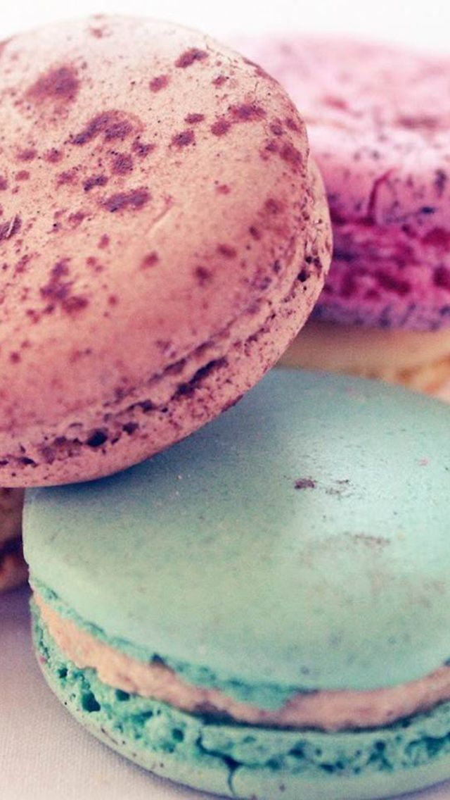 Macaron Wallpaper For Iphone And Android Background Theme