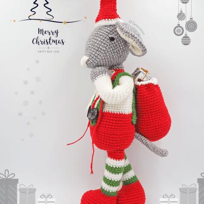 Arte Friki: 10 Patrones Gratuitos de Árboles de Navidad en Amigurumi | 412x412