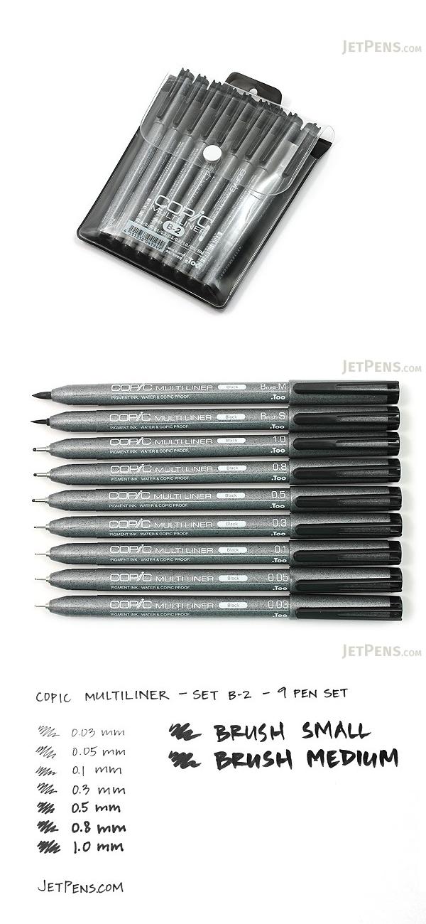 Copic Multiliner SP Pens