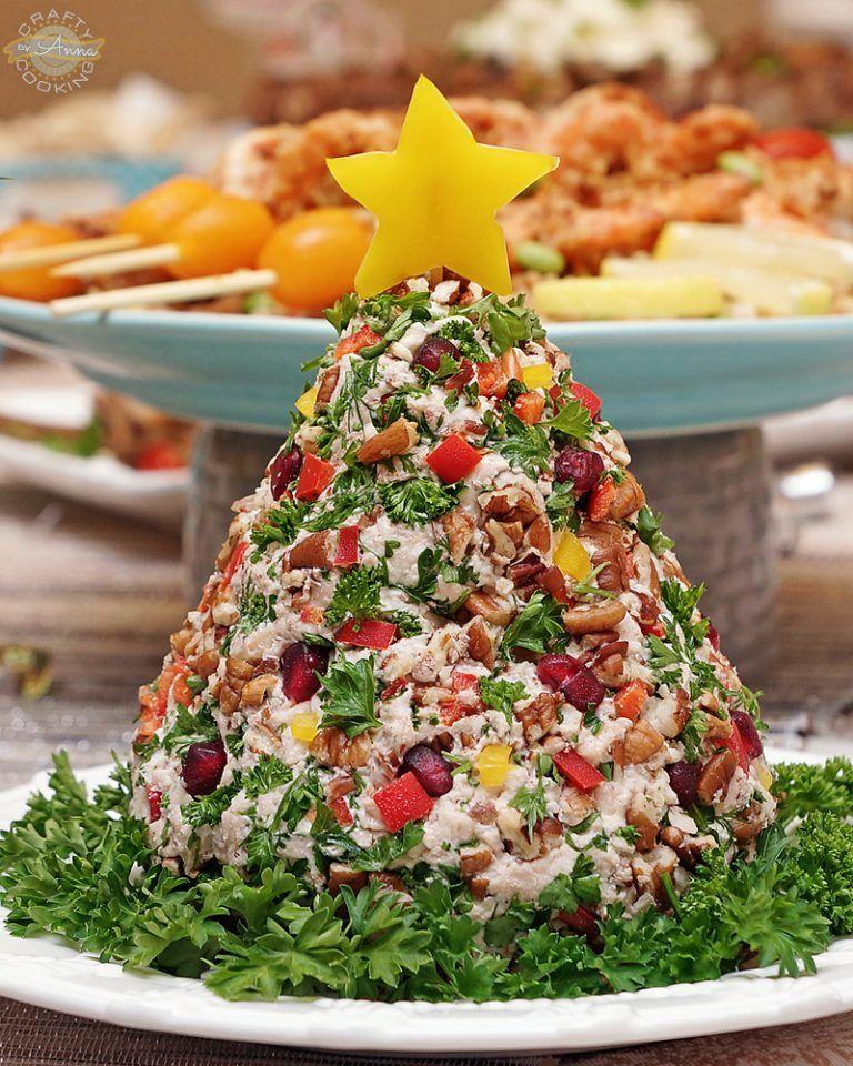 Video Recipe Chicken Salad Christmas Tree Fancy And Delicious Recipe Christmas Tree Food Chicken Salad Christmas Dishes