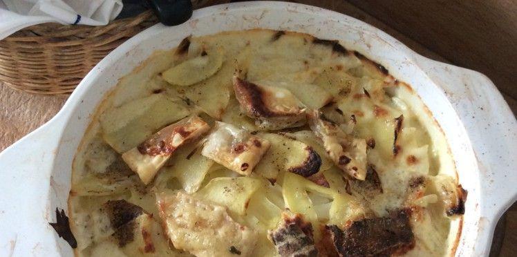 Tartiflette aux endives et aux pommes de terre - Recettes
