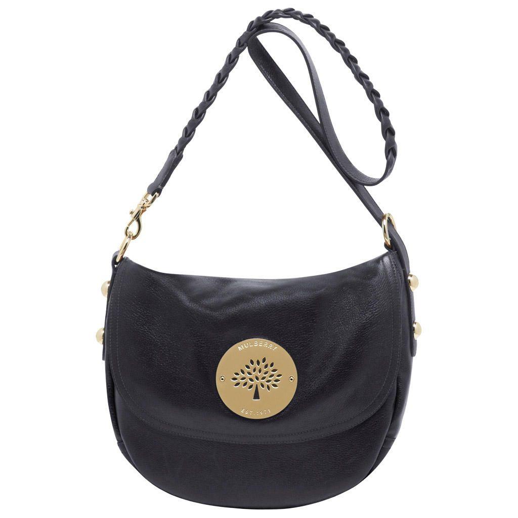c730385187 Mulberry Daria Satchel Black Soft Spongy Leather | Mulberry Purse ...