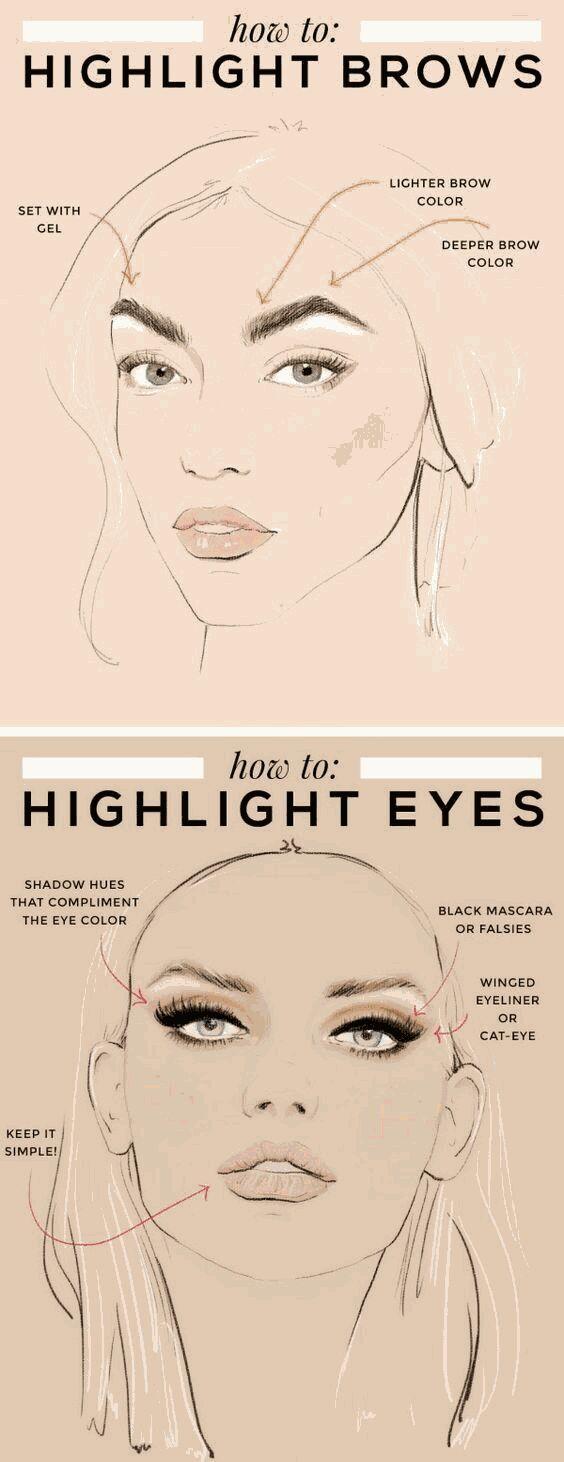 Highlighting Your Brows Eyebrow Highlighting Tutorial Best