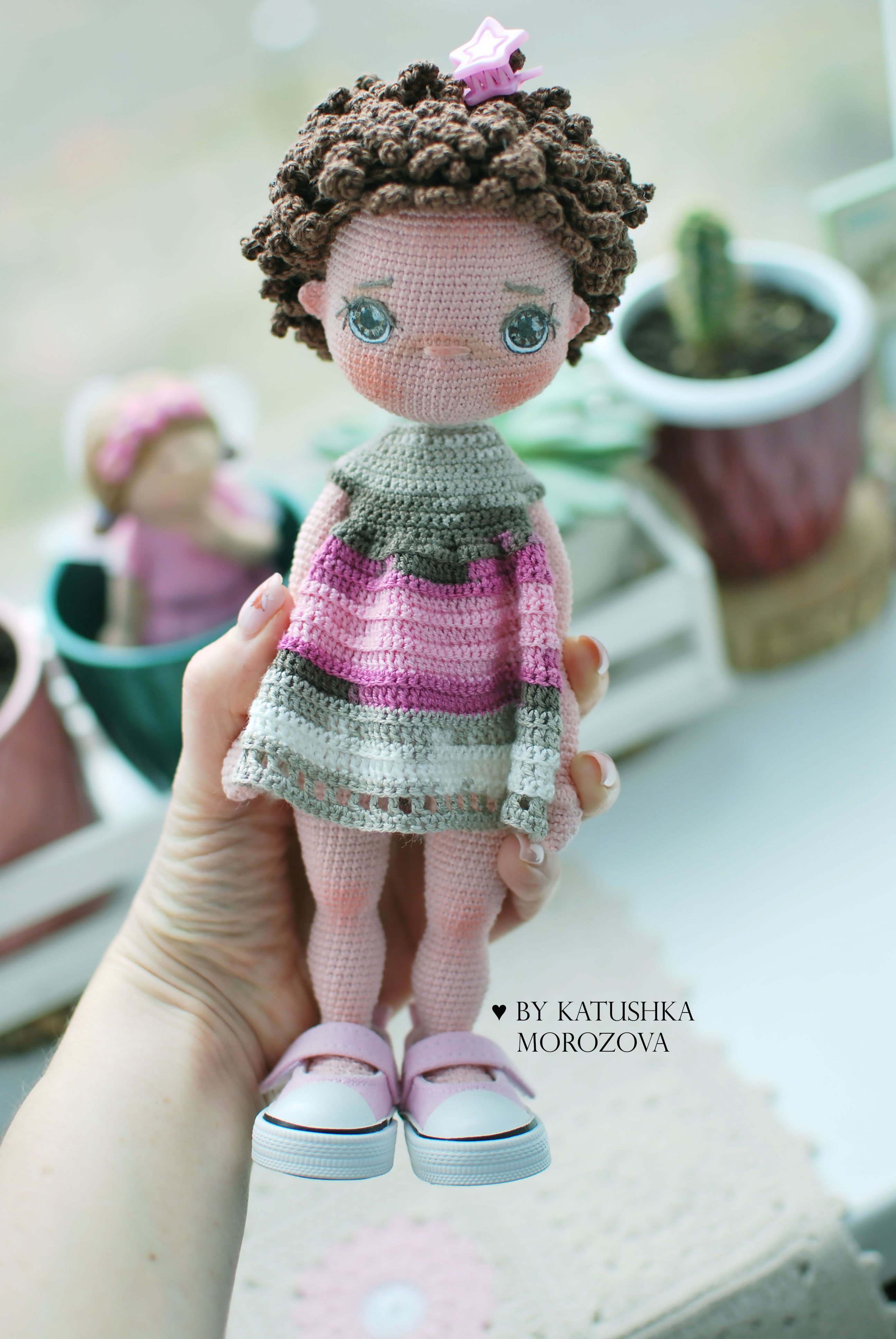 Fiber Art Craft: Female Girl Doll Base Amigurumi Crochet Doll ... | 3872x2592