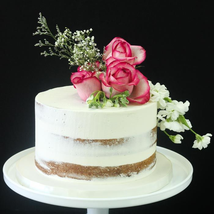 Image Result For Single Tier Baby Girl Cake