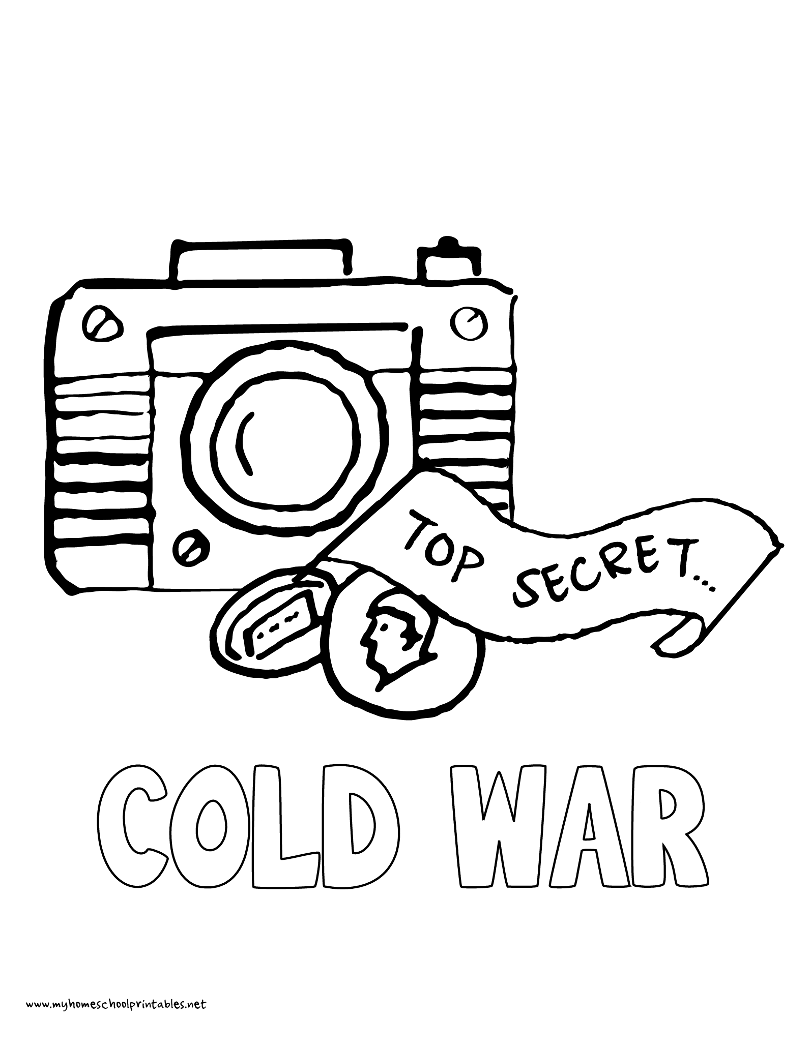 History Coloring Pages – Volume 4 | Spy gear