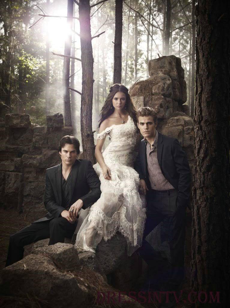 Lace Mermaid Elena Gilbert The Vampire Diaries Wedding Dress The