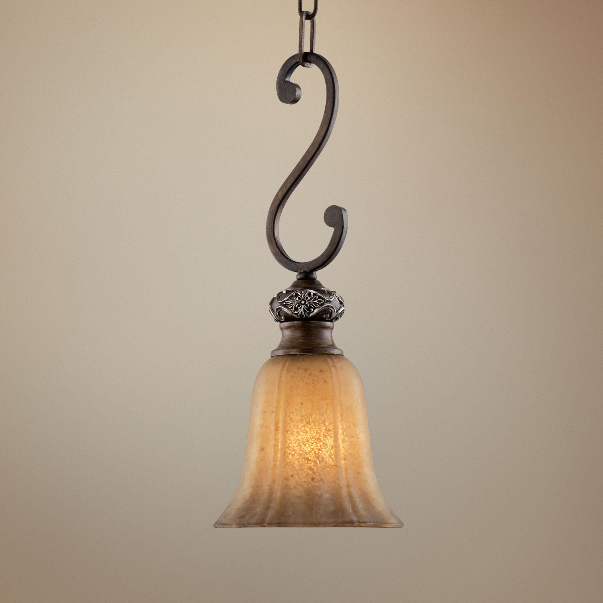 Kathy Ireland Sterling Estate Mini Pendant Light R4856