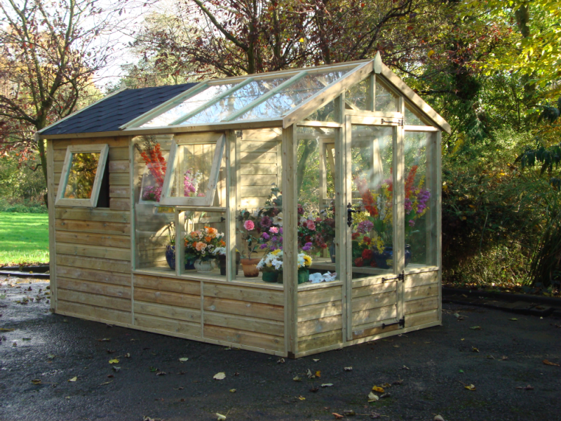 Deluxe Potting Shed Garden sheds for sale, Garden