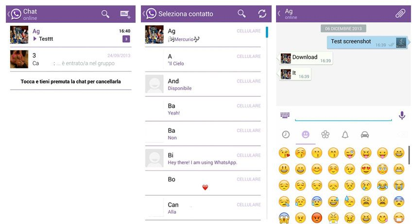 Viber Whatsapp Themes
