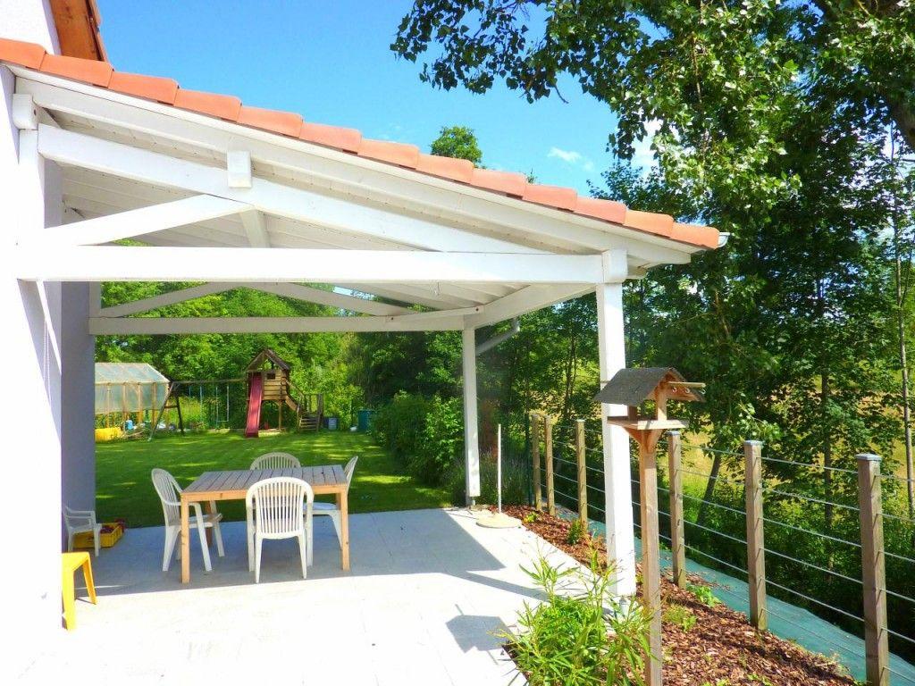 construire terrasse couverte maison | Avancée de terrasse ...