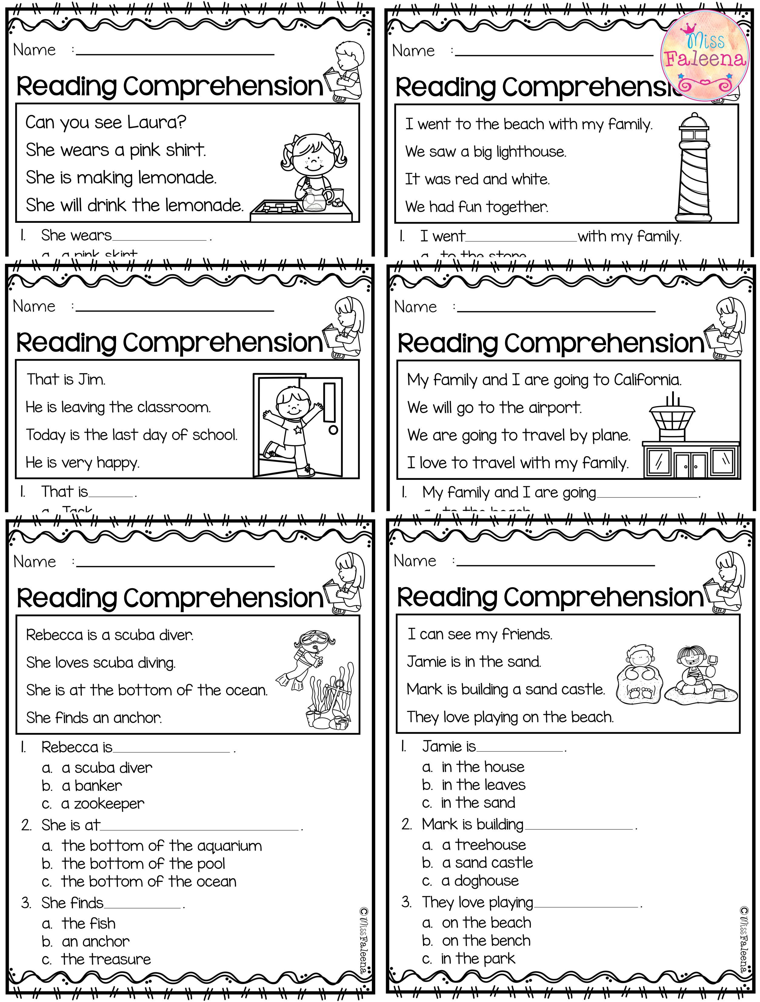 June Reading Comprehension