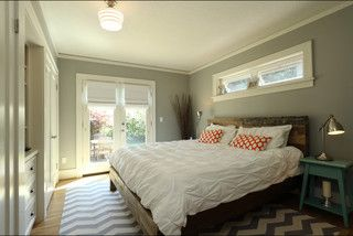 Clerestory Awning Windows Above The Bed Add Light And Air