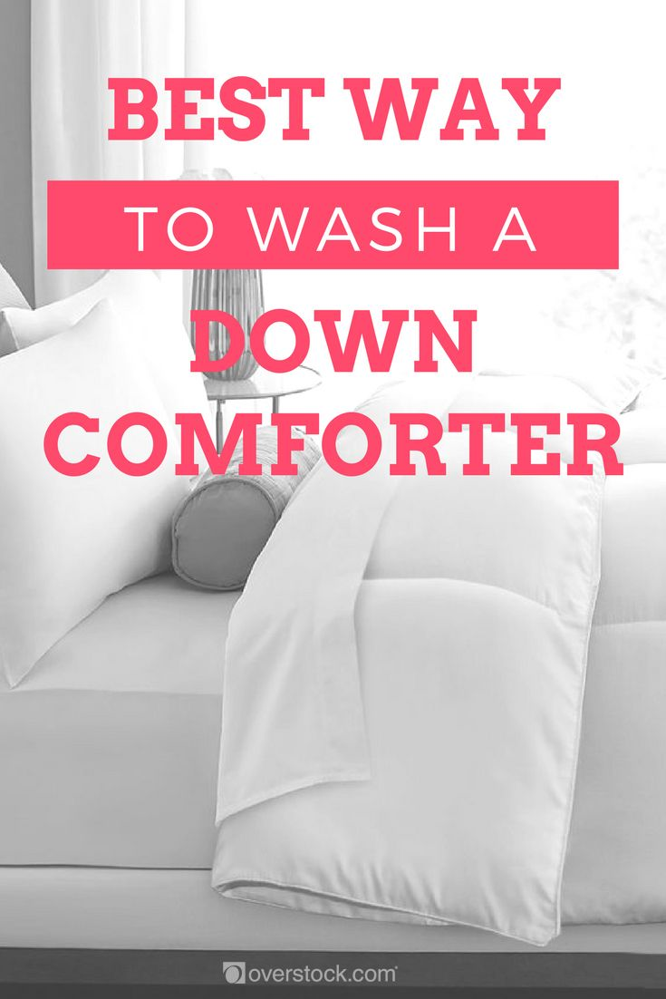 Best Way To Wash A Down Comforter Overstock Com Tips Ideas Down Comforter House Cleaning Tips Clean House