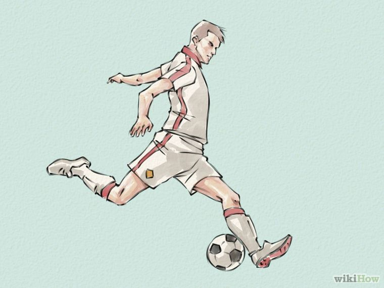 4 ways to draw soccer players wikihow pruning