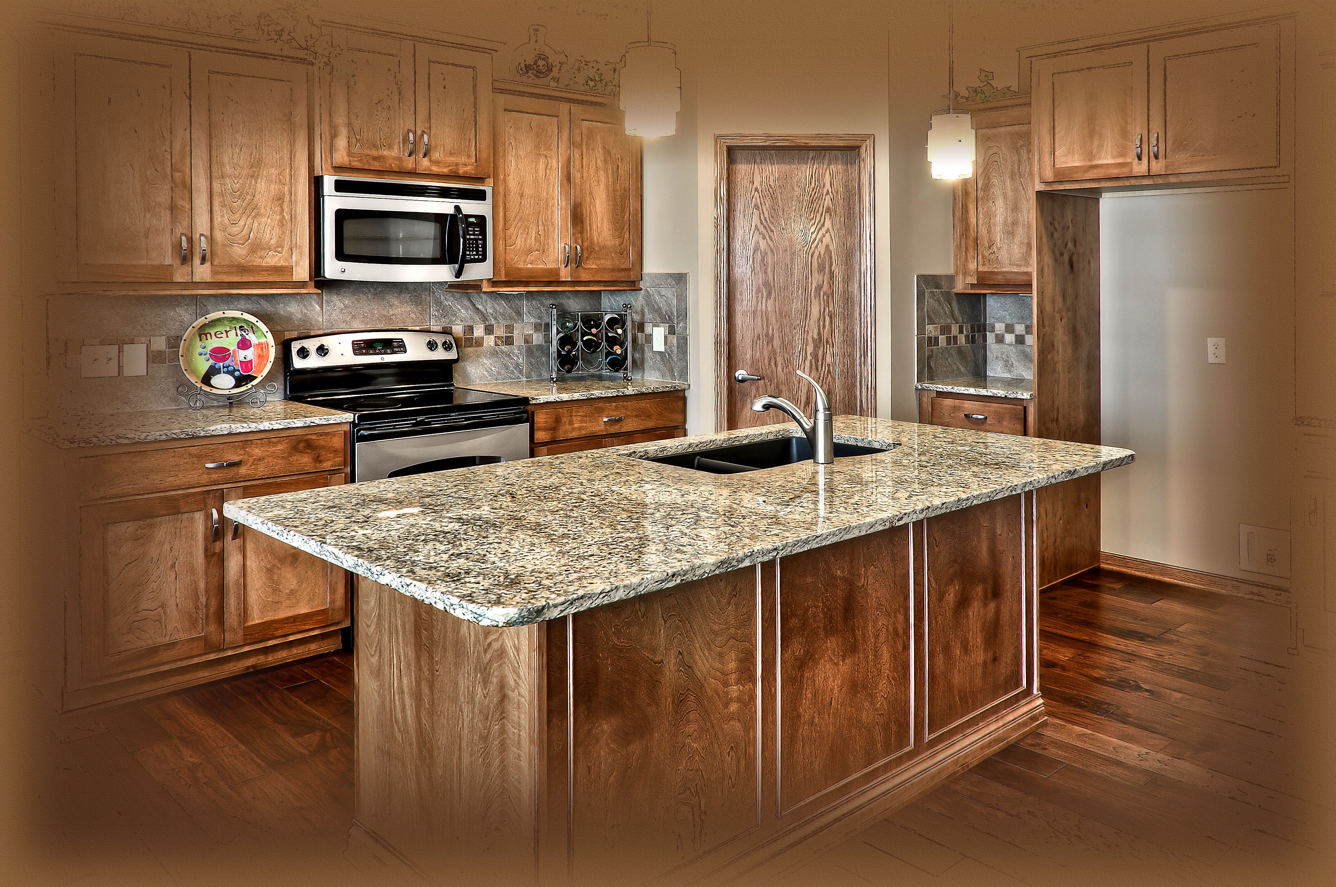 Omaha, NE home by Prairie Homes. From design to reality