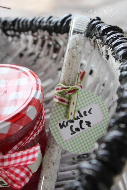wolkenfees k chenwerkstatt thymian rosmarin kr utersalz geschenke aus der k che food and. Black Bedroom Furniture Sets. Home Design Ideas