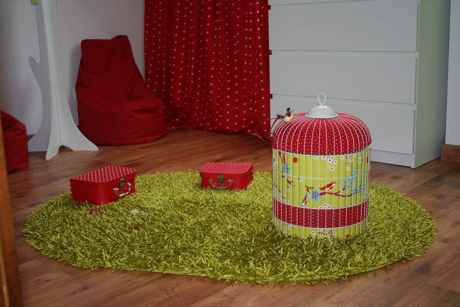 Chambre enfant Rouge Vert Lumineux | chambre | Pinterest | Chambre ...