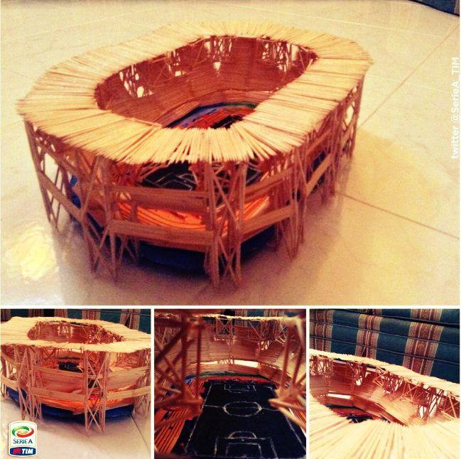 10mila stuzzicadenti... per creare il proprio San Paolo in miniatura http://tuttacronaca.wordpress.com/2014/01/26/10mila-stuzzicadenti-per-creare-il-proprio-san-paolo-in-miniatura/
