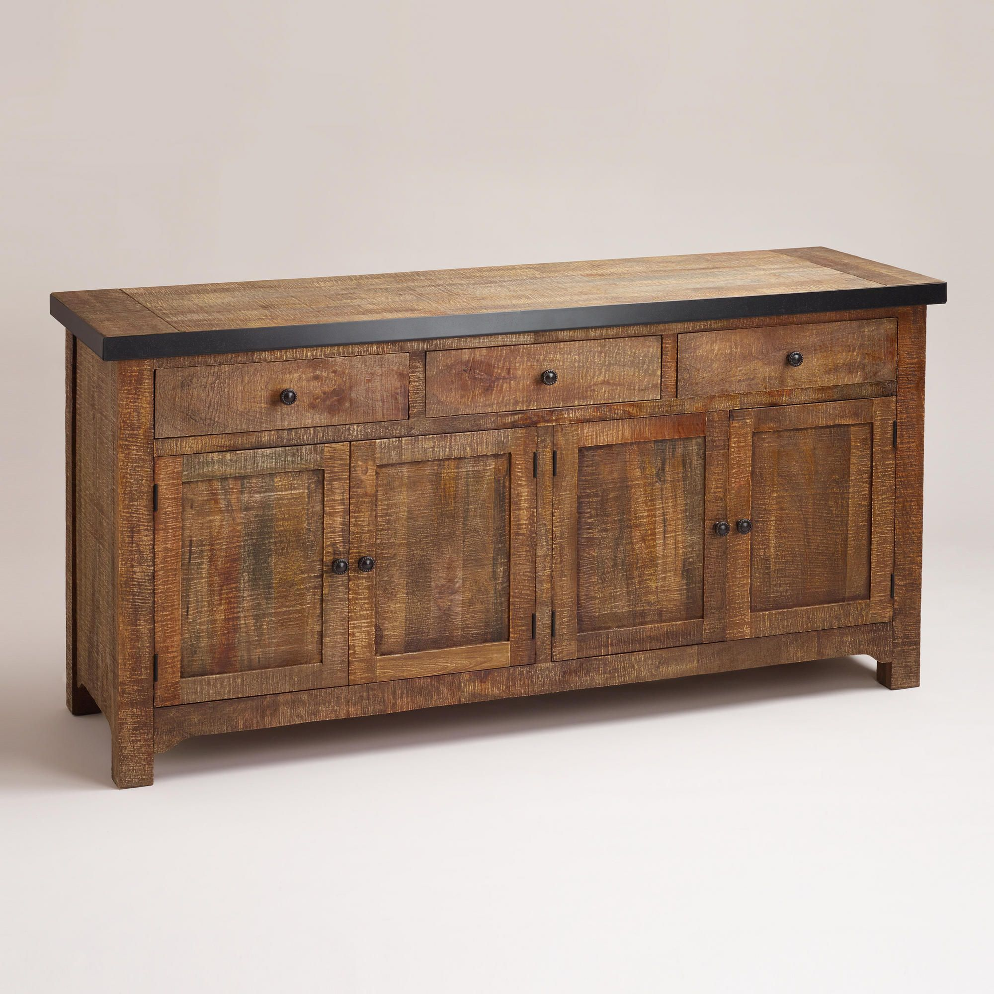 Clayton Rustic Sideboard World Market For Under Tv Rustic Sideboard Dining Room Buffet Home Decor