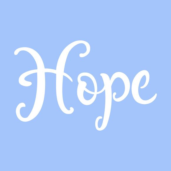 Hope Stencil Word Stencils Template Templates Pattern - Ebay background templates