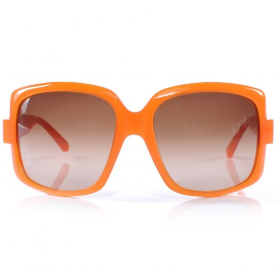 0d762ce410 This is a authentic pair of CHRISTIAN DIOR 60 s Sunglasses in Orange. These  stylish