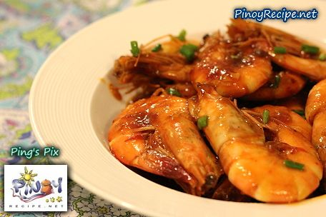 How to cook pinoy sweet and spicy shrimp this filipino sweet food forumfinder Images