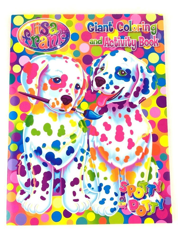 Lisa Frank Spotty & Dotty Giant Coloring and Activity Book for Kids ...