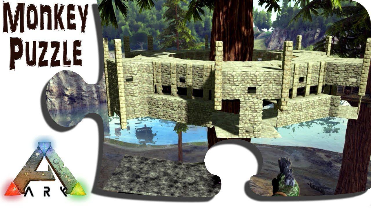 Ark Advanced Building Redwood Treehouse Castle Build Pt 1