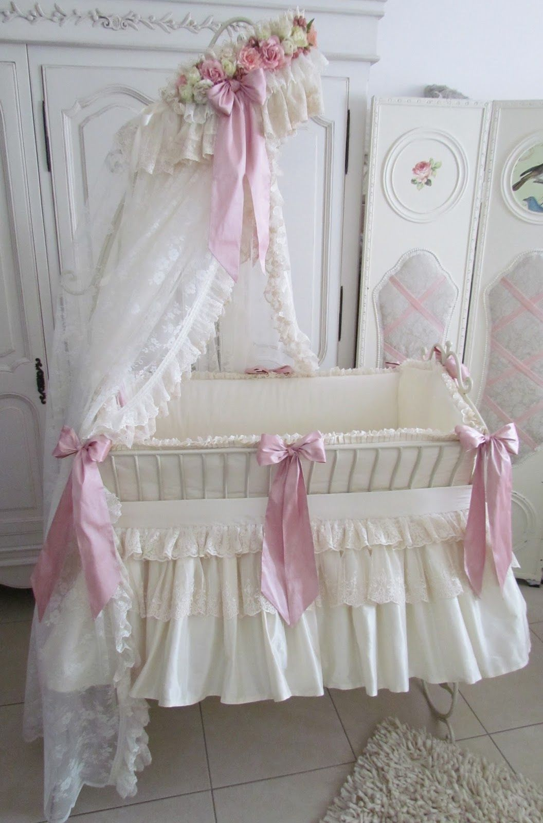 This Will Be My Daughters Crib 3 Shabby Chic Baby Baby Bassinet Baby Cribs
