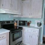 Best A Merry Diy White Washed Cabinets Hickory Whitewashed 400 x 300