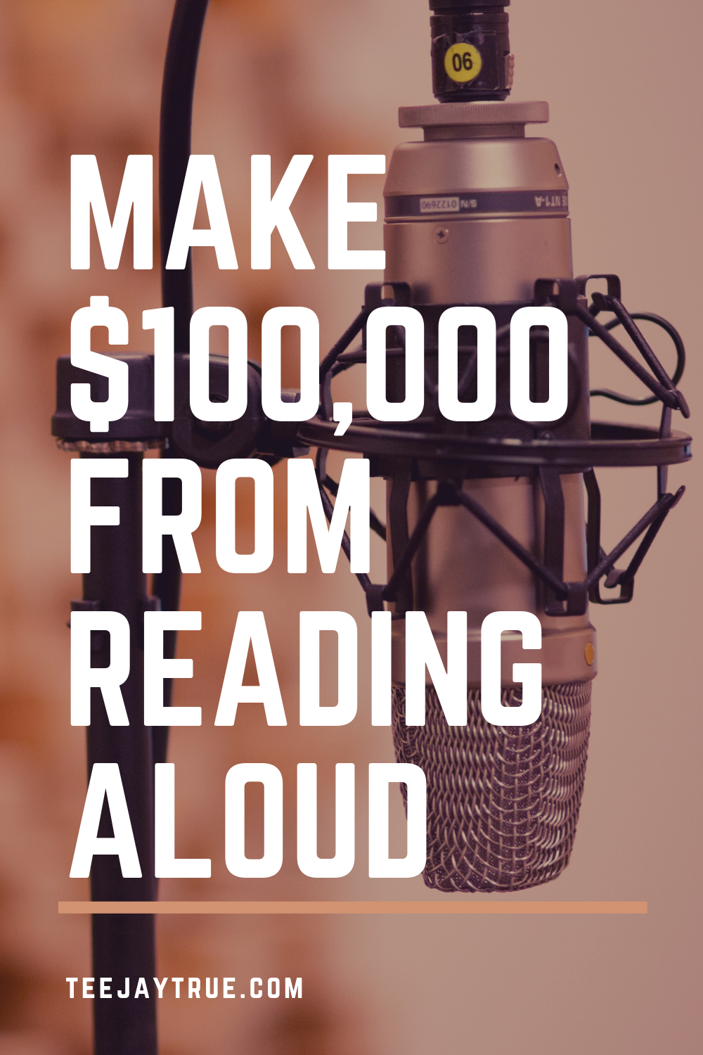 Generate Passive Income through narration