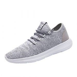 keezmz men's running shoes fashion breathable sneakers