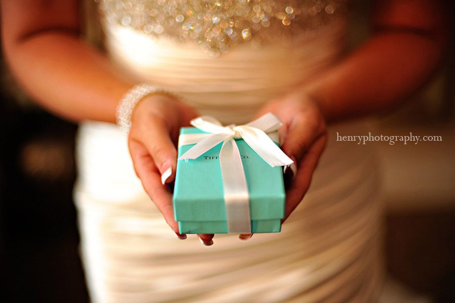 anything in that little blue box= perfect wedding gift
