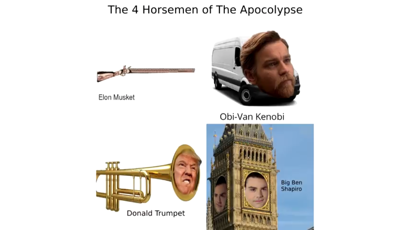 Gods Sake Big Ben Kenobi Donald