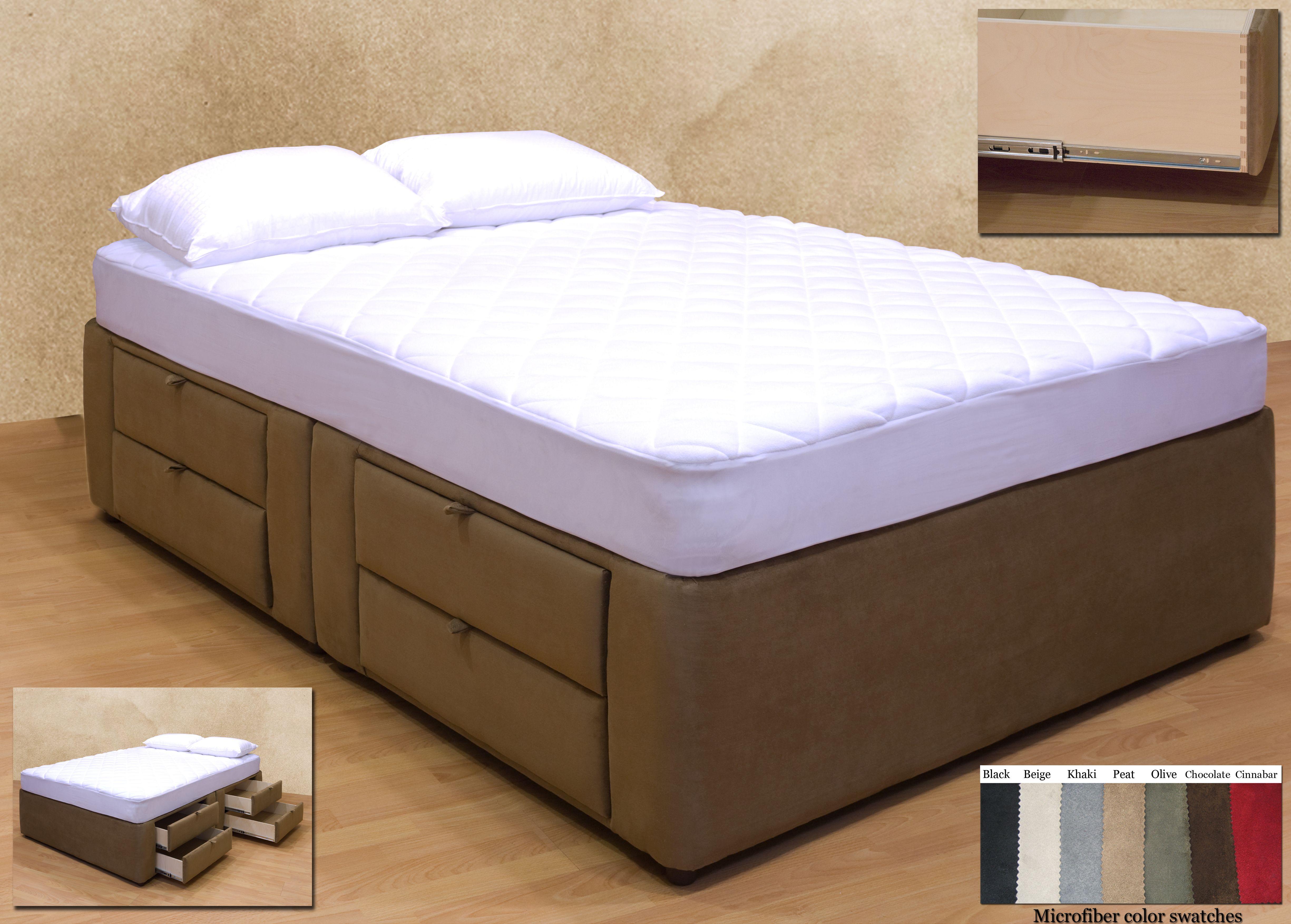 Plattform Bett Mit Open Storage Full Size Bett Rahmen Mit