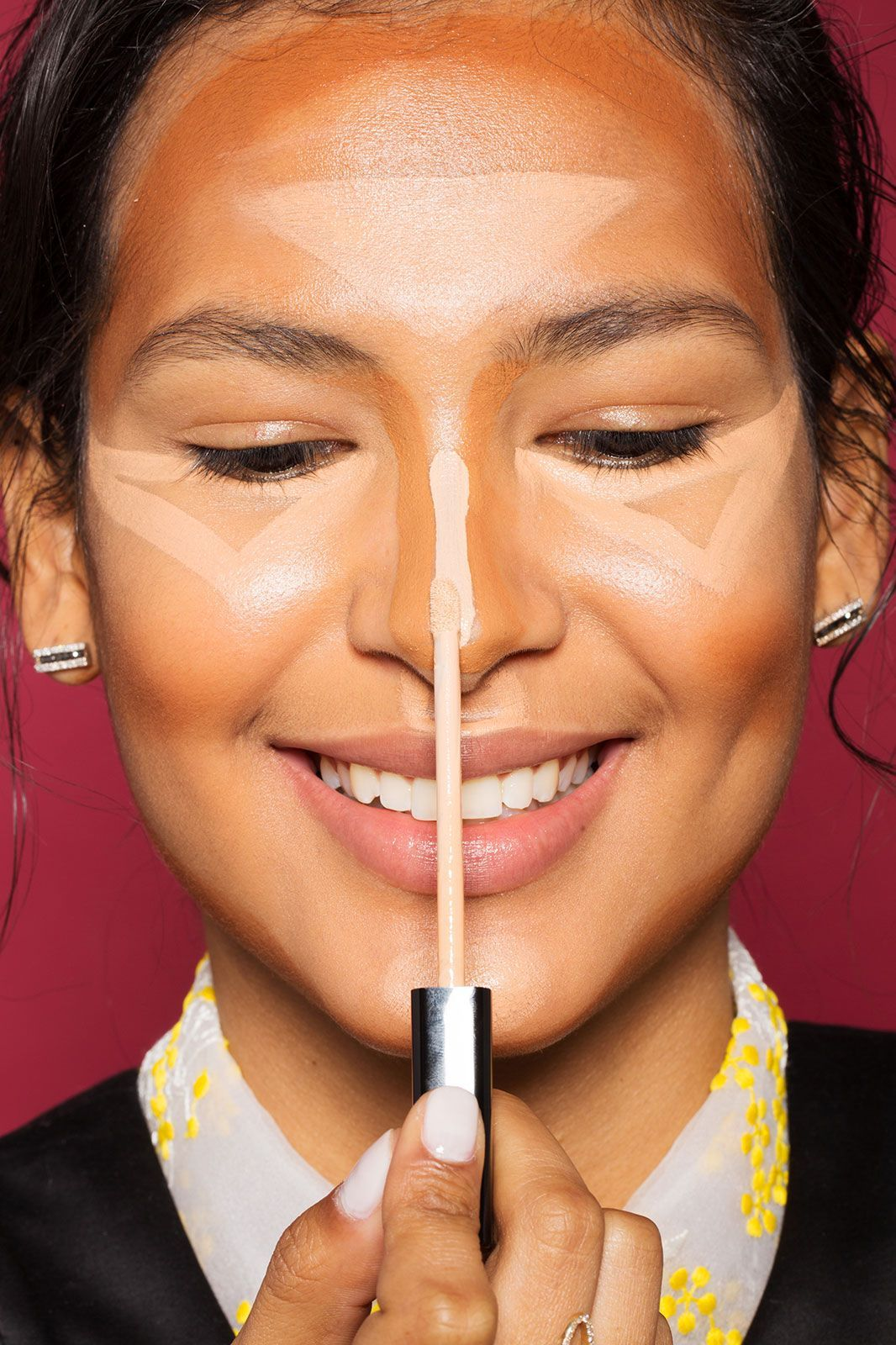 This contouring hack will save you so much money makeup hair one of the best explained and easiest step by step contouring tutorials ive seen made very simple to understand and with versatile products to fit baditri Gallery