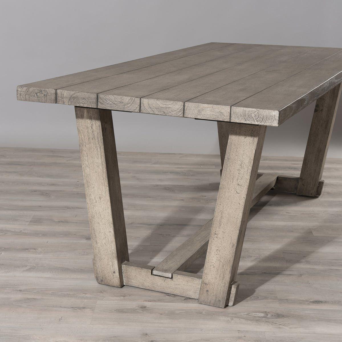 Table De Jardin Teck 200x90cm Detroit Ref. 30020815 - Taille ...