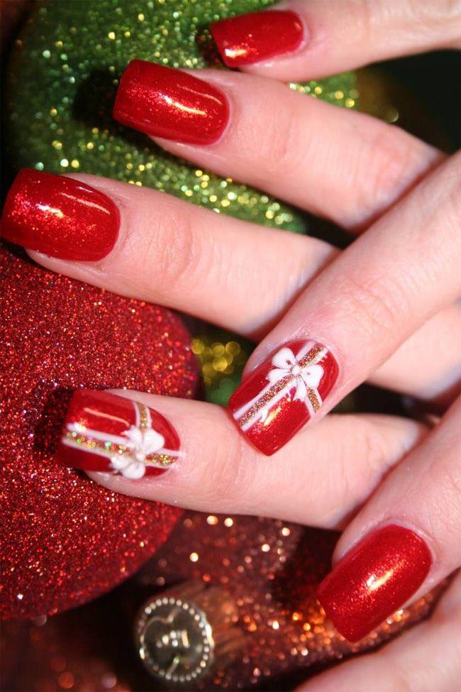 Wonderful New Year Nail Designs for Christmas | Nail Art | Pinterest