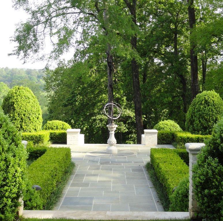Armillary Focal Point By Land Plus Associates Ltd Hardscape Beautiful Gardens Outdoor Landscaping
