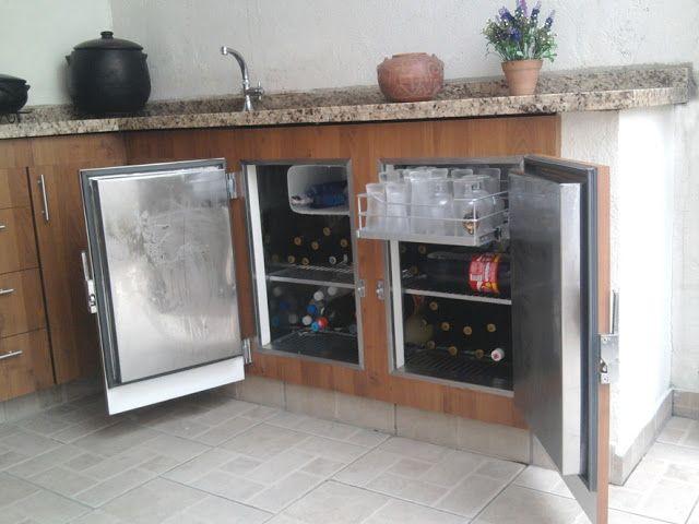 Balcao Refrigerado Em Padrao Madeirado Varandas Gourmet Balcao