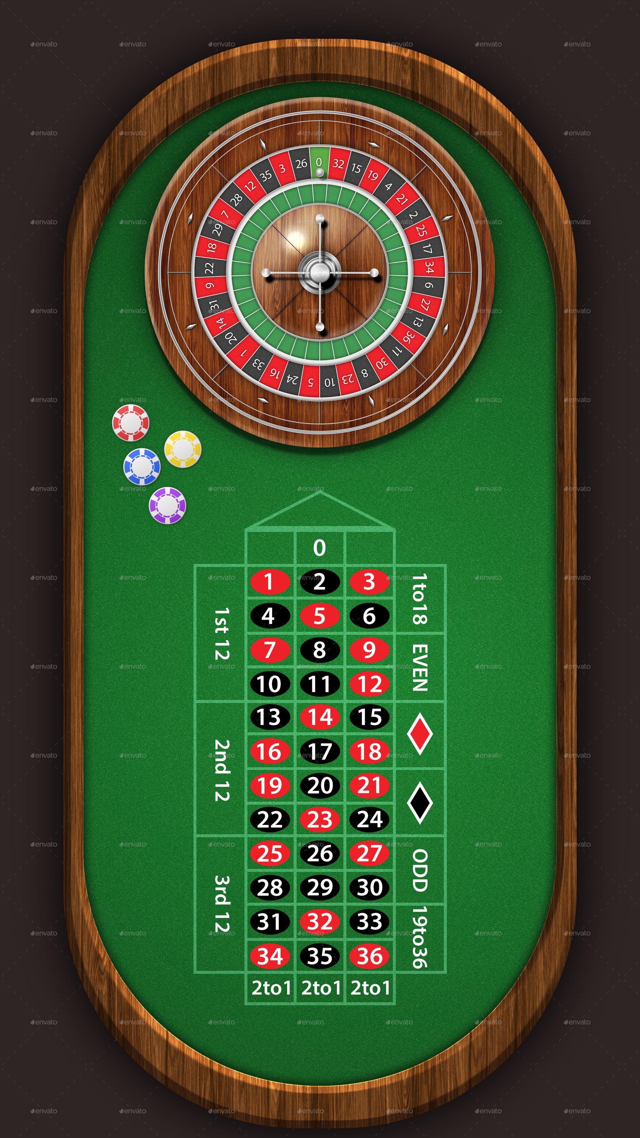 European Roulette Table Pack 4k Roulette Table Roulette 5 Card Poker