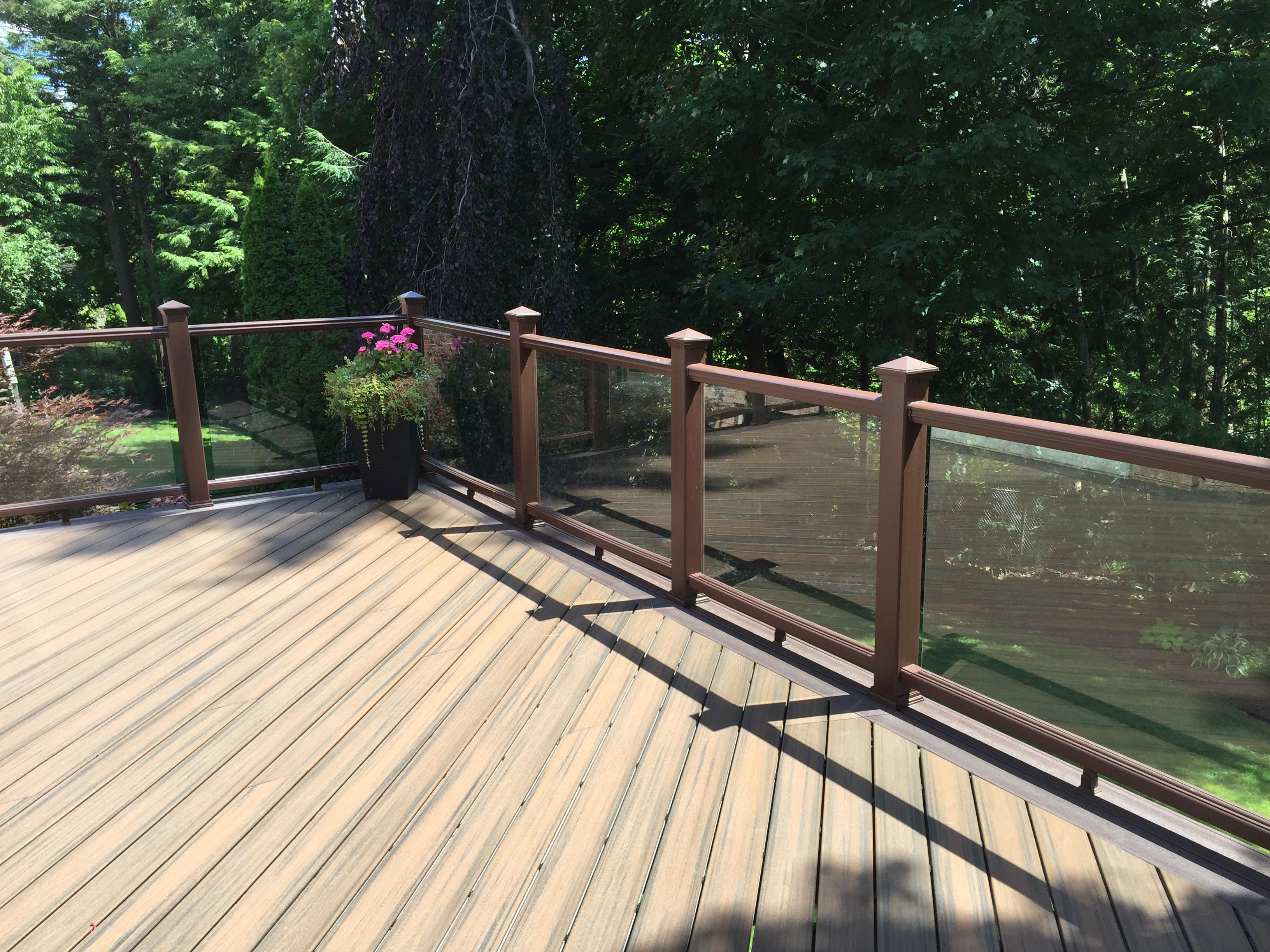 Image Result For Perspex Deck Fencing Garden Sitting Areas Decking Fence Deck